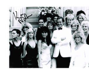 Kim Norton - Zorin party girl - James Bond Genuine Signed Autograph 10 x 8 COA  2341