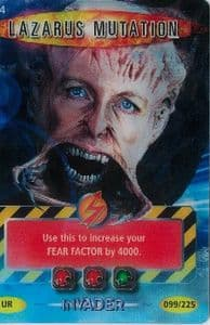 LAZARUS MUTATION  #474  Doctor Who INVADER   Battles In Time  Ultra Rare  UR3D Card-  10609