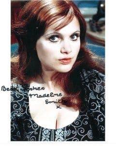 Madeline Smith Hammer Horror Star Vampire Lovers #d