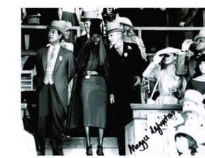 MAGGIE DEFREITAS Bond Girl  Genuine Signed Autograph 10 x 8 COA