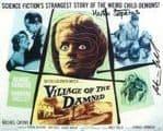 Martin Stephens & Peter Preidel 'Village of the Damned'.HORROR  GSA 10 x 8 COA 5876