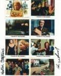 """Martin Stephens & Peter Preidel """"VILLAGE OF THE DAMNED""""  - HORROR GSA 10x8 COA  5870"""
