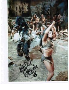 Martine Beswick Hammer Horror, Bond Girl, One Million years BC
