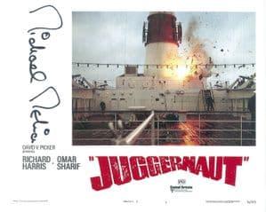 Michael Melia ' JUGGERNAUT 'Genuine Signed Autograph 10X8 COA 8433