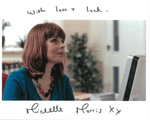 Michelle Morris , Doctor Who, Genuine Signed Autograph,  10430