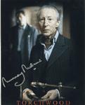 "Murray Melvin ""Bilis Manger"" TORCHWOOD Genuine Signed Autograph 10x8 COA 745"