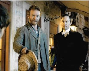 Nik Howden from Vincent & The Doctor signed 10 by 8 photograph