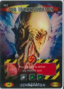 OOD TRANSFORMATION #992  Doctor Who DEVASTATOR  Battles InTime  UR3D Card-  10669