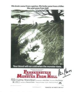 Philip Voss Hammer Horror Frankenstein - Genuine Signed Autograph 10x8 COA 12230