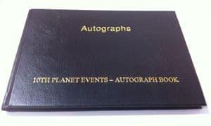 Pre-Signed Autograph Book GENUINE SIGNED AUTOGRAPHS 9200