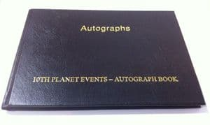 Pre-Signed Autograph Book - GENUINE SIGNED AUTOGRAPHS - 9201