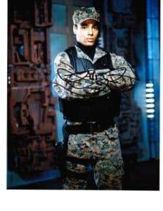 Rainbow Sun Francks as Lt Aiden Ford -  STARGATE ATLANTIS Genuine Signed Autograph 10 x 8 COA 199