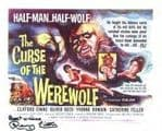 Renny Lister 'The Curse of the WEREWOLF', HAMMER HORROR Genuine Signed Autograph 8x10 COA 5097X