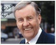 Richard Briers -THE GOOD LIFE - EVER DECREASING CIRCLES Genuine Signed Autograph 10 x 8 COA 5441