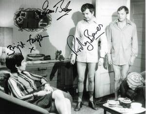 Rodney Bewes, James Bolam, Brigit Forsyth