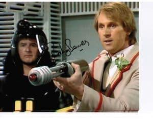 Rodney Bewes 'QuarterMaster Sgt. Stien' DOCTOR WHO Genuine Autograph 10x8 11100