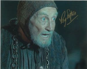 Roy Dotrice 'Hallyne' GAME OF THRONES Genuine Autograph 10x8  11086