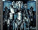"Ruari Mears as a ""Cyberman"" DOCTOR WHO Genuine Signed Autograph 10 x 8 COA 729"