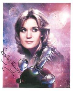 Sally Knyvette  BLAKES 7 -  Genuine Signed Autograph 10 x 8 COA 9132