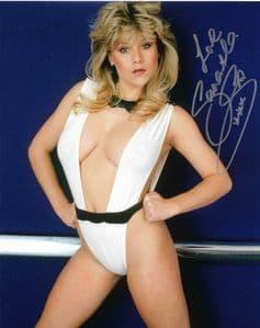 Samantha Fox (Model, Singer) - Genuine Signed Autograph 10x8 COA 11557