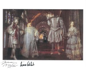 Simon Fisher-Becker & Terence Bayler - HARRY POTTER Genuine Signed Autograph 8x10 COA 8310