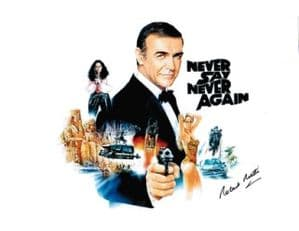 Sir Robert Rietti star of 7 Bond Films, Genuine Signed Autograph 10 x 8 COA 2459