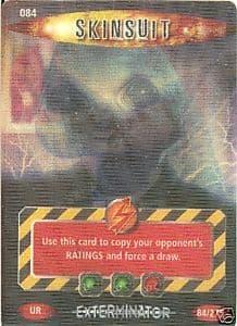 SKINSUIT #084, Exterminator Series, Battles in Time Ultra Rare UR3D Card- 10600
