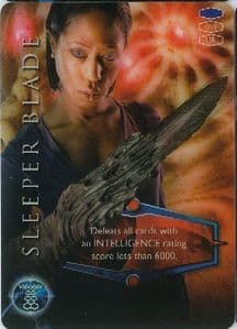 SLEEPER BLADE -  BBC 2006 Torchwood Trading Card   UR3D Card-  10626