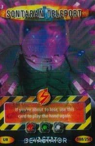 SONTARAN TELEPORT  #913  Doctor Who DEVASTATOR  Battles In Time  Ultra Rare  UR3D Card-  10612