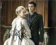 Sophia Myles DOCTOR WHO genuine signed autograph 10x8 COA 3633
