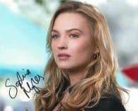 Sophia Myles MOONLIGHT  genuine signed autograph 10x8 COA 5529