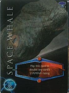 SPACE WHALE -  BBC 2006 Torchwood Trading Card   UR3D Card-  10627