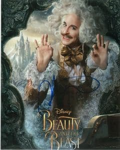 Stanley Tucci - BEAUTY AND THE BEAST -  10 x 8  genuine signed autograph 10744