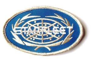 Star Trek Starfleet Oval Logo 10cm Patch