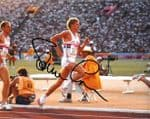 Steve Cram, Athlete,  genuine signed autograph 10392