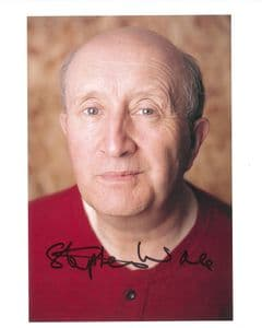 STEVE WALE DOCTOR WHO genuine signed autograph COA 10 BY 8 - 8421