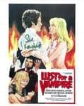 Sue Longhurst  'Lust for a Vampier' HAMMER HORROR Genuine Signed Autograph 10 x 8 COA 3348