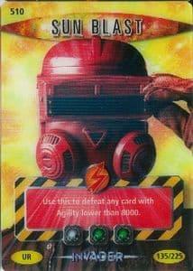 SUN BLAST #510  Doctor Who INVADER  Battles InTime Ultra Rare UR3D Card-  10617