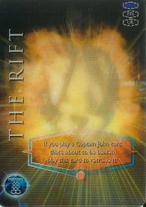 THE RIFT -  BBC 2006 Torchwood Trading Card   UR3D Card-  10625