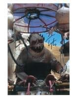 Toby Longworth (STAR WARS Episode 1)  Genuine Signed Autograph 10x8 COA 7726