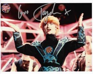 Toyah Wilcox MUSIC, ACTOR etc. Genuine Signed Autograph,  10x8 COA 12219