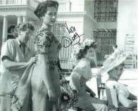 Vera Day HAMMER HORROR Genuine Signed Autograph 10 x 8 COA 6002