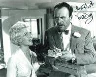 Vera Day HAMMER HORROR Genuine Signed Autograph 10 x 8 COA 6004
