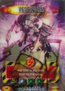VESPIEFORM #957  Doctor Who DEVASTATOR  Battles InTime Ultra Rare UR3D Card-  10618