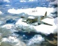 World War 2 Pilots (x6 Autographs) - Genuine Signed Autograph 7722
