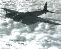 World War 2 Pilots (x6 Autographs) - Genuine Signed Autograph 7723