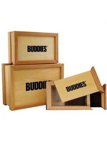 Buddies Wooden Sifter Storage Pollen Box