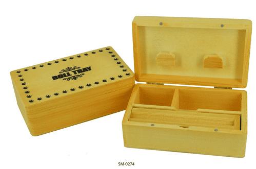 T2 Pine Rolling Box