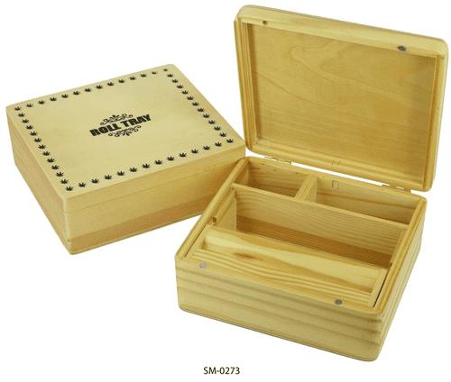 T3 Pine Roll Box