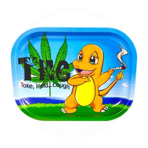 THC Small Rolling Tray